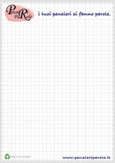 Blocco note PensieriParole 50 fogli A5